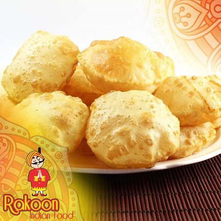RAKOON INDIAN FOOD: Puri Bread