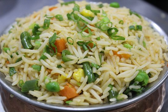 RAKOON INDIAN FOOD: Vegetables Rice