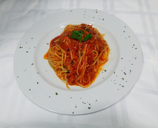 Pizzeria Napoli Carihuela: Spaghetti Arrabiata