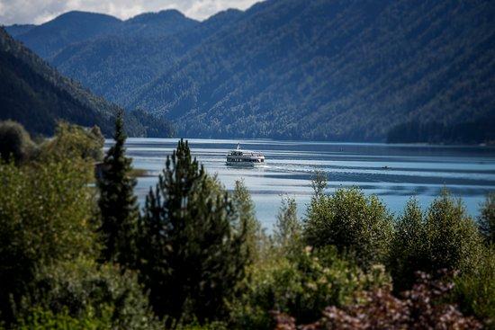 Hotel Regitnig: Ausblick von der Seeblick-Terrasse