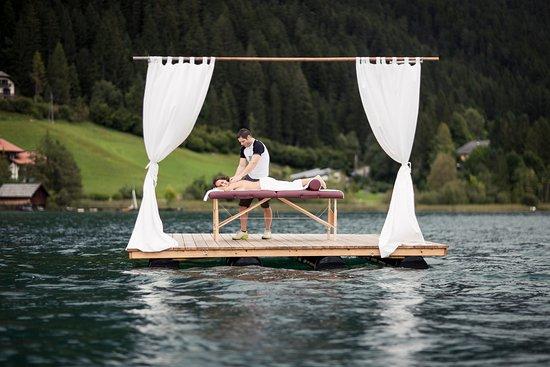 Hotel Regitnig: Regitnig Massage-Floß
