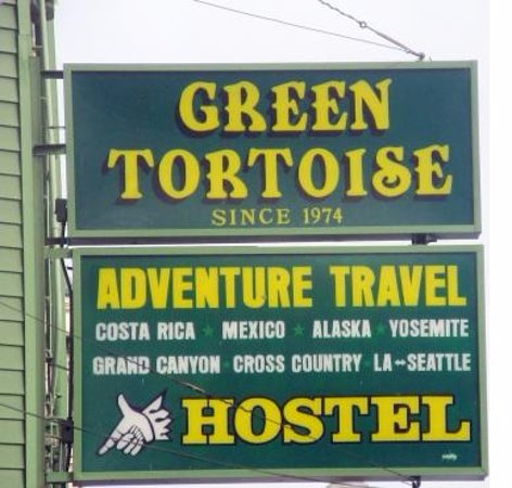 Green Tortoise Hostel - San Francisco: from Broadway road