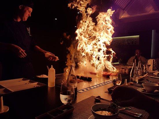 H10 Conquistador: The Teppanyaki restaurant in the hotel