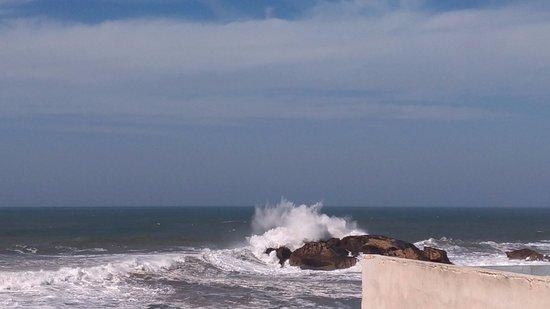 La Casa del Mar : Vue de la terrasse du riad