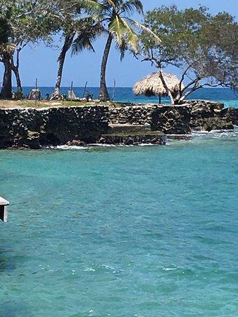 Isla del Pirata: UMA DAS DESCIDAS PARA O MAR