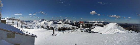 Rifugio Ovovia Monte Gomito: Foto panoramica