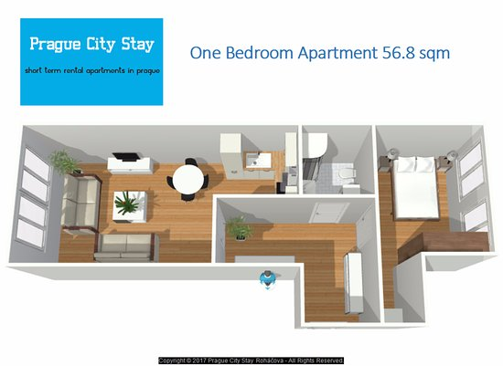Prague City Stay - Rohacova: One Bedroom Apartment  - Prague City Stay Roháčova