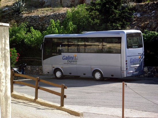 Agia Galini, Greece: Our Midi Bus
