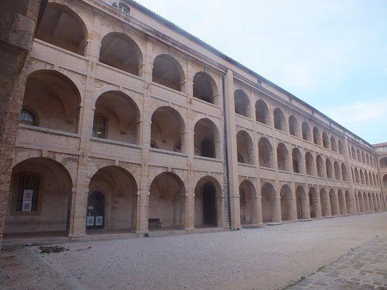 Musee d'Archeologie Mediterraneenne: les bâtiments