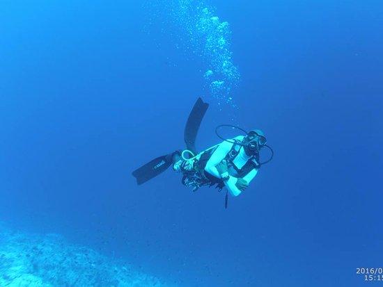 Adventure Diving: Me diving