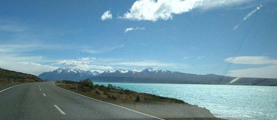 Canterbury Region, Nova Zelândia: the only photo taken from the car