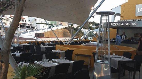 JAN Restaurante: JAN PIZZAS & PASTAS TOP FLOOR TERRACE