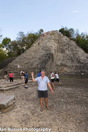 Azul Beach Resort Resort Riviera Cancun: Coba temple. One of the last that are climbable (at the moment). Quite a climb !