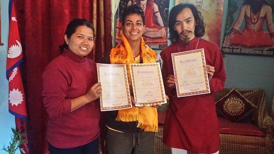 GN Reiki Meditation Center: Saveena, Kendra and myself
