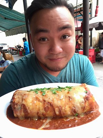 Sancho Cantina: HOME OF THE WET BURRITO