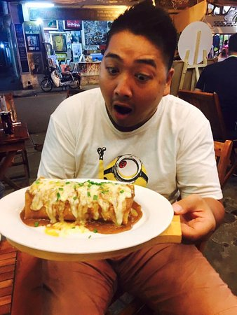 Sancho Cantina: HOME OF THE WET BURRITO!!!