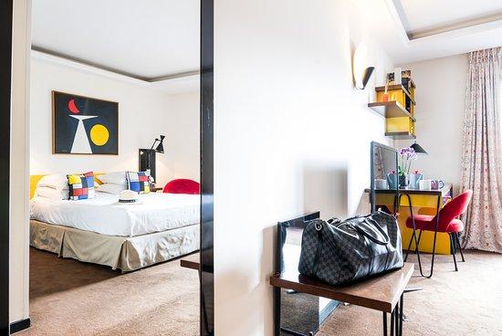 Hotel La Residence du Vieux Port: Chambre Deluxe Prestige