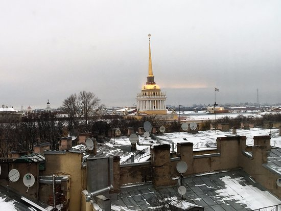SO/ Sofitel St. Petersburg: Looking out from our room towards the Admiralty