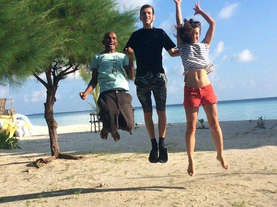 Adventure Diving: Happy customers