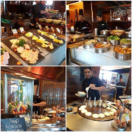 DoubleTree by Hilton Hotel Kuala Lumpur: Breakfast-Indian, western