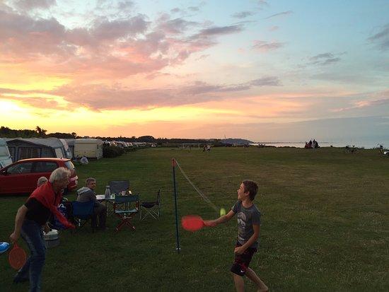 Saeby, Denmark: Flot solnedgang