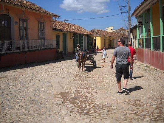 Cuba Por Favor: Touring Trinidad with Yofren two days later.