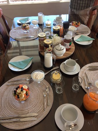 Villa Zeezicht: Das Frühstück