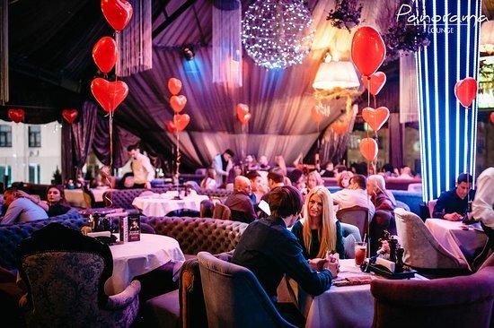 Panorama Lounge: Вечеринка 8 Марта