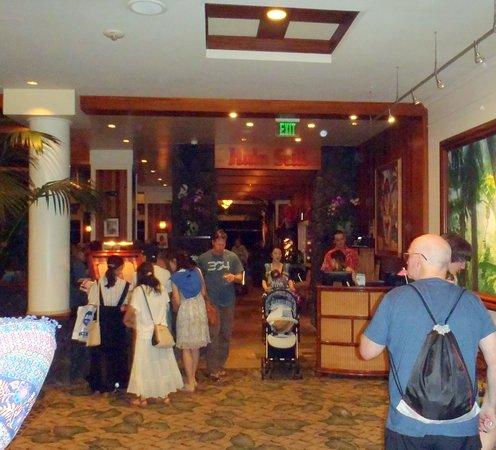 Hula Grill Waikiki : Hula Grill sign & hostess station
