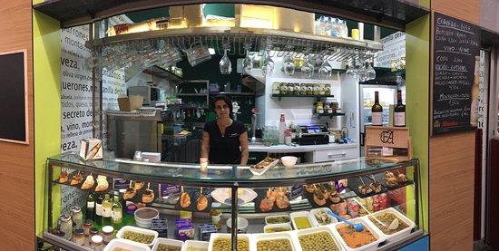 Encurtidos Antequera Mercado del Puerto: tolle Auswahl