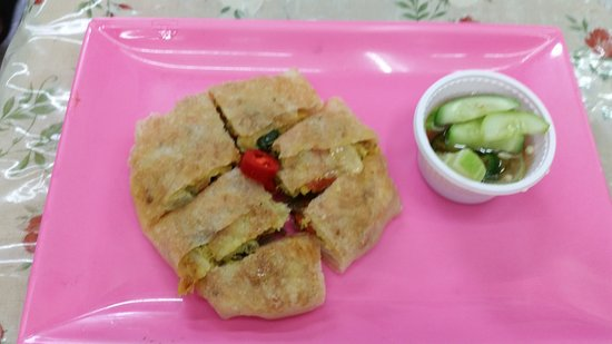 Roti-Mataba: Sea food roti