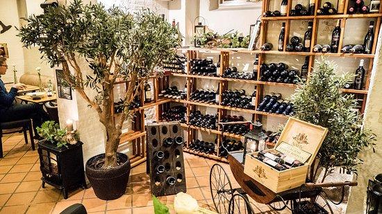 Tappo Winebar, Restaurant & shop: Forside