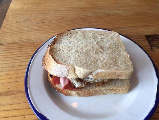 The Lovington Bakery: Egg and bacon sarnie