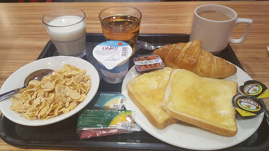 YHA London Central: Breakfast
