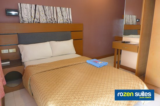 Rozen Suites Malakas: Double-size Single Bed (Second Floor)