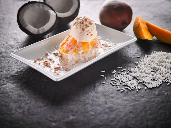 Noodle Wok: Our Mango Sticky Rice Dessert.