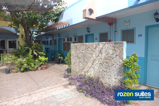 Rozen Suites Malakas: Doors of the Ground Floor Rooms