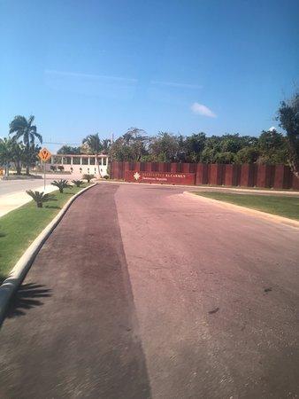 Excellence El Carmen: Main Entrance Sign