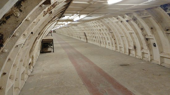 Clapham South Subterranean Shelter Tour