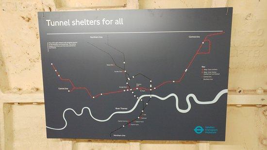 Clapham South Subterranean Shelter Tour: Where the tunnels were