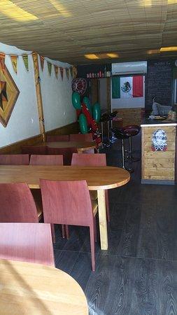 El Gusto: l'intérieur du restaurant