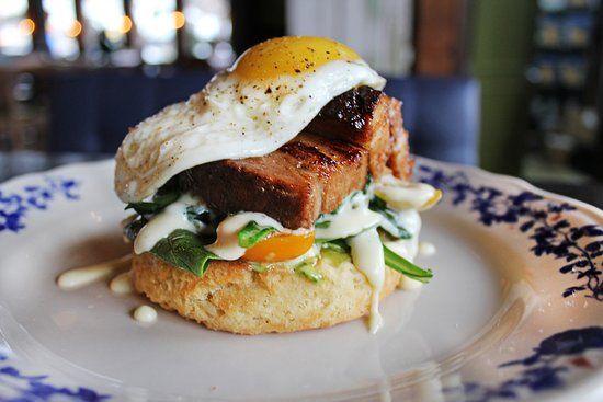 Ida Claire: Pork Belly Biscuit (breakfast)