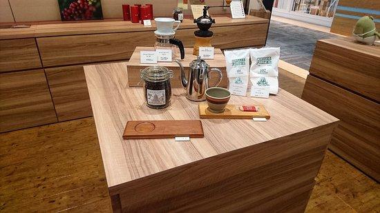 Tokado Coffee Hakata Riverain Mall咖啡用具