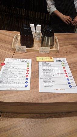 Tokado Coffee Hakata Riverain Mall咖啡豆介紹