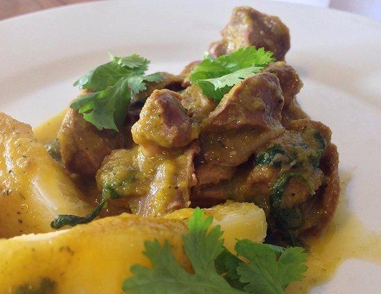 Sarten Caliente: Mollejitas en salsa de Seco Limeño