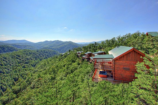 Brother's Cove Log Cabin Rentals: Brother's Cove views