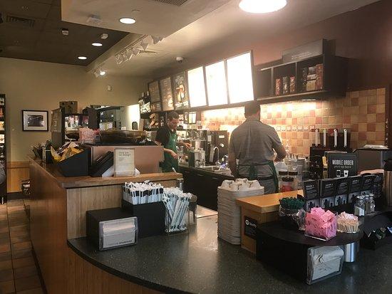 Earl of Sandwich: Back Area for making Coffee etc