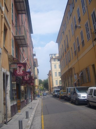 Nice, France: down town