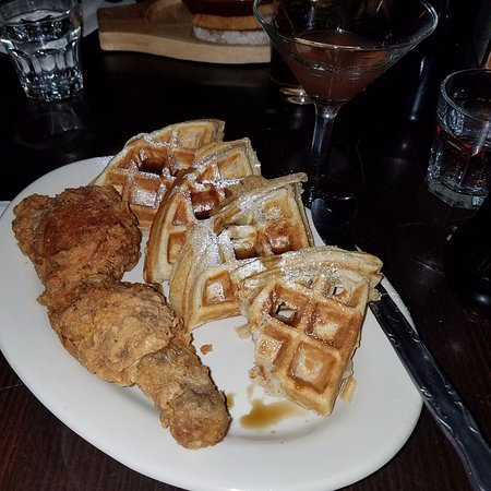 Rustik Tavern: chicken & waffles