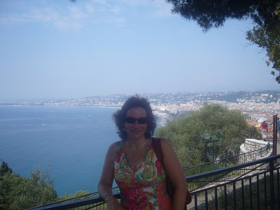 Nice, France: good view of the sea front.